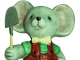 Instrumental MP3 Une souris verte - Karaoke MP3 as made famous by Comptine