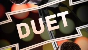 duet karaoke songs. Black Bedroom Furniture Sets. Home Design Ideas