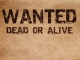 Wanted Dead Or Alive base personalizzata - Bon Jovi