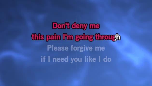 Please Forgive Me Karaoke - Bryan Adams