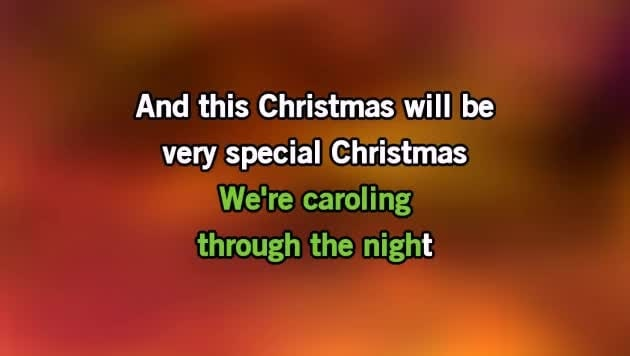 karaoke this christmas donny hathaway cdg mp4 kfn karaoke version - And This Christmas Will Be A Very Special Christmas