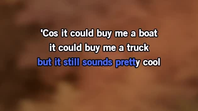 Karaoke Buy Me A Boat Chris Janson Cdg Mp4 Kfn Karaoke Version