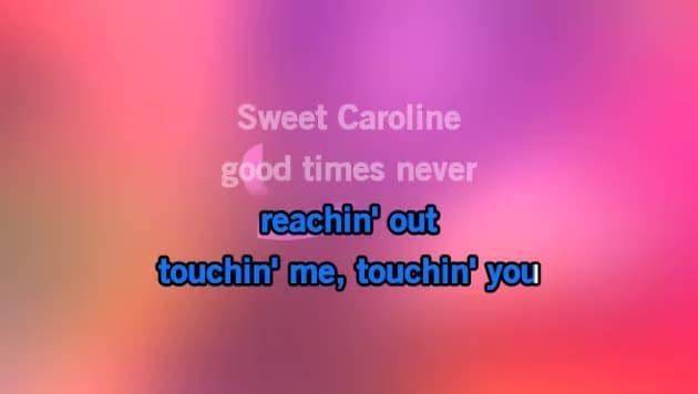Sweet Caroline Karaoke - Neil Diamond