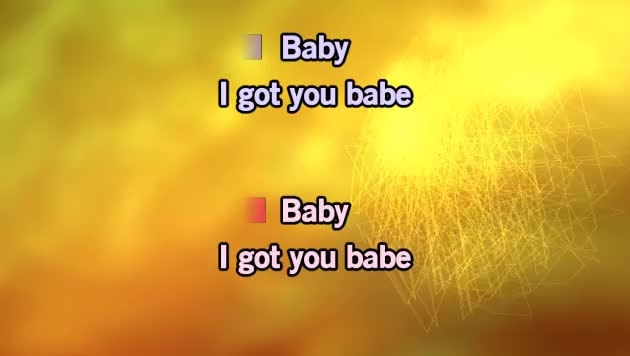 I Got You Babe Karaoke - UB40 & Chrissie Hynde