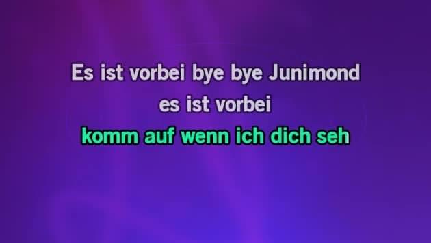 junimond songtext
