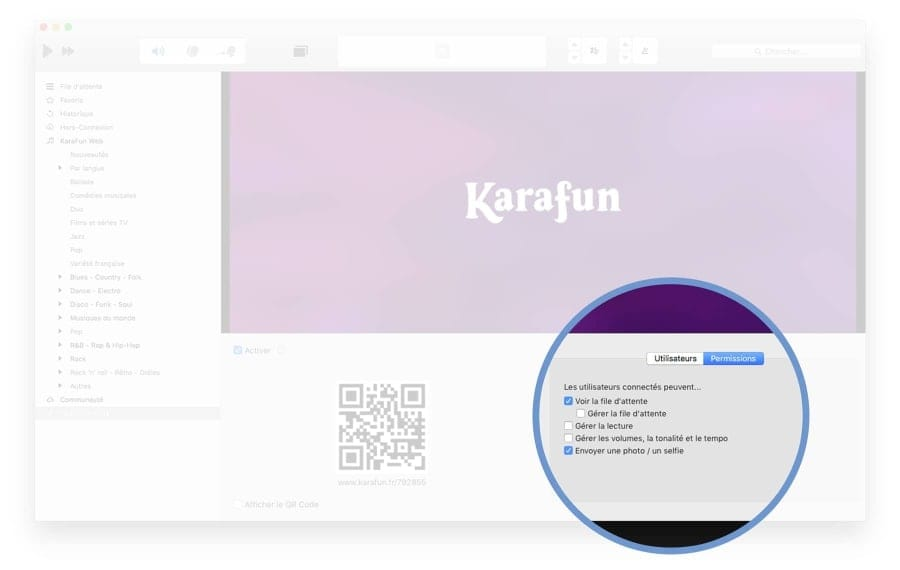 Control KaraFun from another device (Remote control)