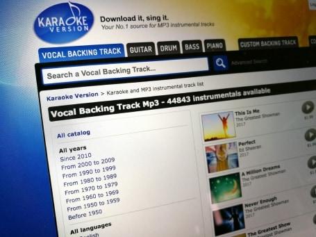 Advanced song search on Karaoke Version - Blog - Karaoke Version