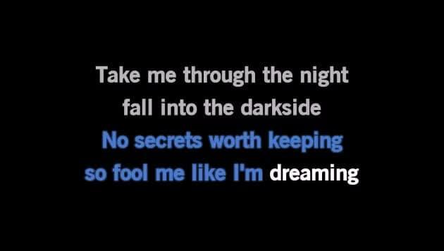 Karaoke Darkside - Alan Walker - CDG, MP4, KFN - Karaoke Version